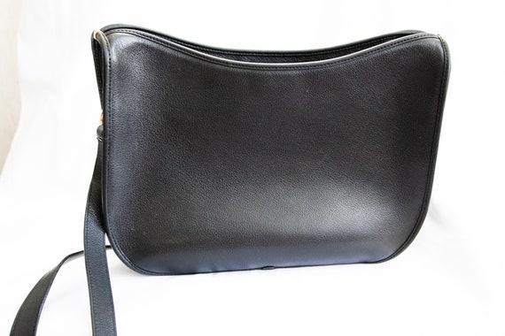 Vintage Gucci 1970's Black Shoulder Bag - image 5
