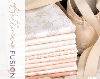 Ballerina Fusion Bundles - Designed by a Collaboration of AGF Designers - 100% Cotton - Half Yards, Fat Quarters, Fat Eights - 10 Pieces