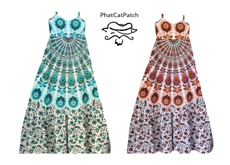 Boho Hippie Spinner Dress