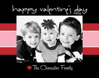 Custom Printable Valentine's Day Photo Card