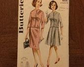 1960s Butterick Skirt and Jacket Pattern 2258 Sz 12 Bust 32 - 1960s Butterick / 60s Butterick / 19  / Butterick Pattern