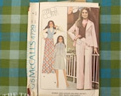 1970's Sewing Pattern / Vintage Pattern /Mario's Corner / McCall's 4729 / Vest Pattern / Pants Pattern / Jacket Pattern / Skirt /QUICK LIST