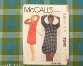 Vintage Sewing Pattern / Nightgown Pattern / McCall's 7341 / Size Medium / Nightie Pattern / Pajama Pattern / Night Shirt / QUICK LIST