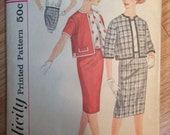 1950s Simplicity Women's Skirt, Blouse and Jacket Pattern 3324 Sz 14 Bust 34 -  Vintage Simplicity / 50s Simplicity /