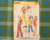 Vintage Sewing Pattern / Simplicity Shorts Pattern / Simplicity 5650 / Bust 32 / Size 14 / 70s Pants Pattern / 1970s / QUICK LIST