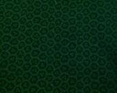 Castor Green / Quilting Cotton / Green Print / Cotton Fabric - 1 Yard - Green on Green Quilting Print / Small Print / Green Quilt Cotton