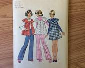 Vintage 1970s Simplicity Women's Dress Pattern 5429 Size 7/8, Bust 29 - Vintage Simplicity / 70s Simplicity / 70s Pattern