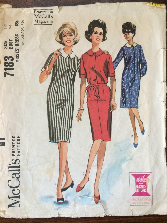 1960s Dress Patterns Cool Decorating
