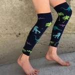 Dinosaur Leg Warmers or Arm Warmers for Boy or Girl - Baby, Toddler Legs - Kid, Tween Legs or Arms - Birthday, Baby Shower, Gift, costume