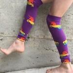 Rainbow Unicorn Leg Warmers or Arm Warmers for Boy or Girl - Baby, Toddler Legs - Kid, Tween Legs or Arms - Birthday, Baby Shower, Gift