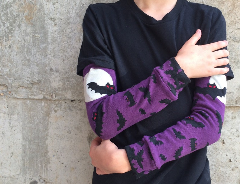 Halloween Bat Leg Warmers and Arm Warmers on  Great Gift for image 0