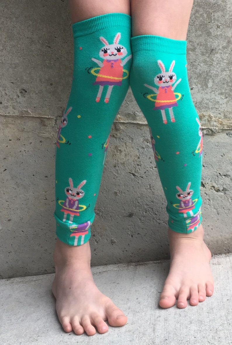 Bunny Rabbit Hula Hoop Leg or Arm Warmers for Boys and Girls  image 0