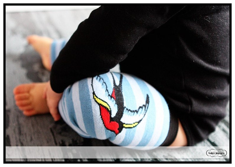 SALE  Sparrow Bird Leg Warmers for Baby Toddler  Arm  Leg image 0