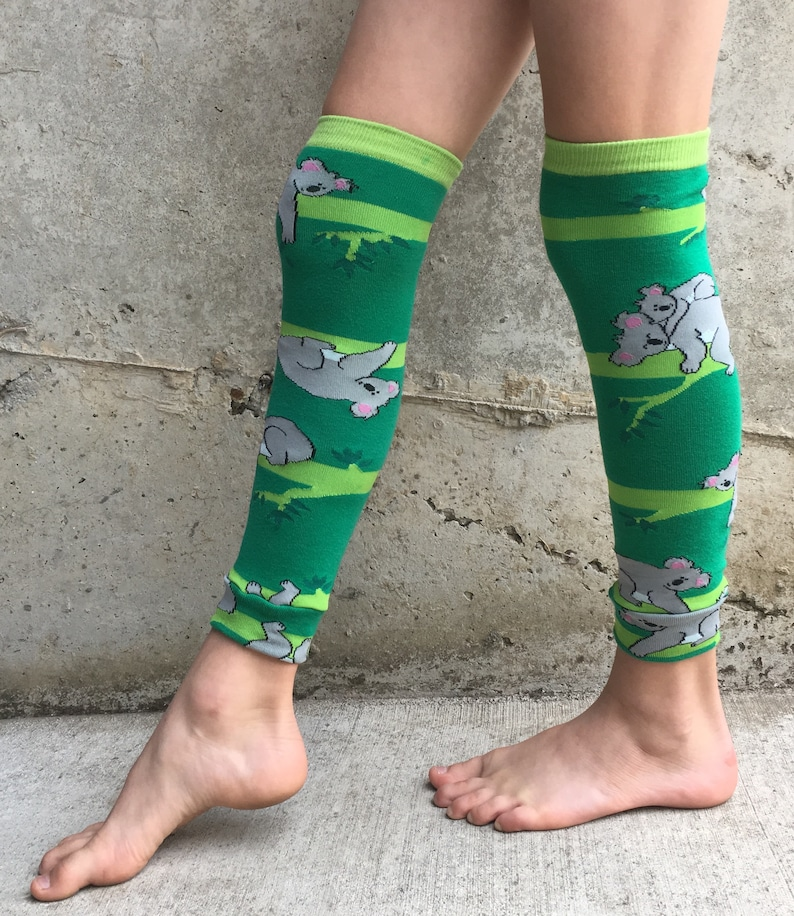 Koala Leg or Arm Warmers for Boys and Girls  Baby Toddler image 0