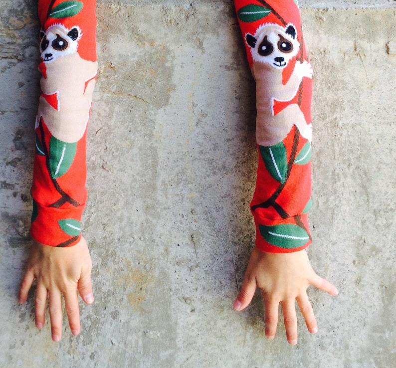 Loris Design Leg or Arm Warmers  Fits Baby Toddler Tween on image 0