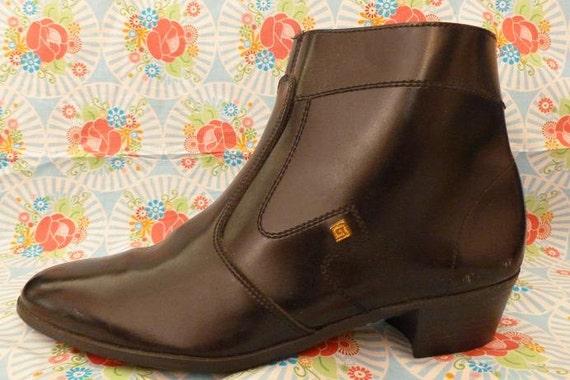 Men's Vintage Beatle Boots - European Size 43