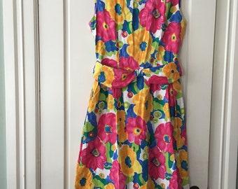 vintage 80's classic Lanz Original Dress size 12