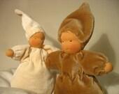 MILK and HONEY BABY Bunting Dolls according to waldorf pedagogy