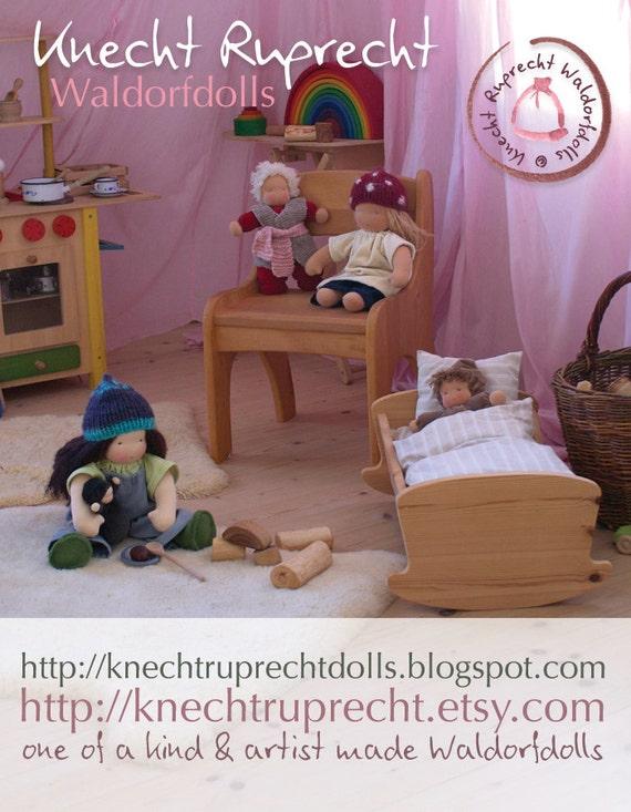Schlamperle Puppe handgefertigt in Waldorf Tradition Puppe   Etsy