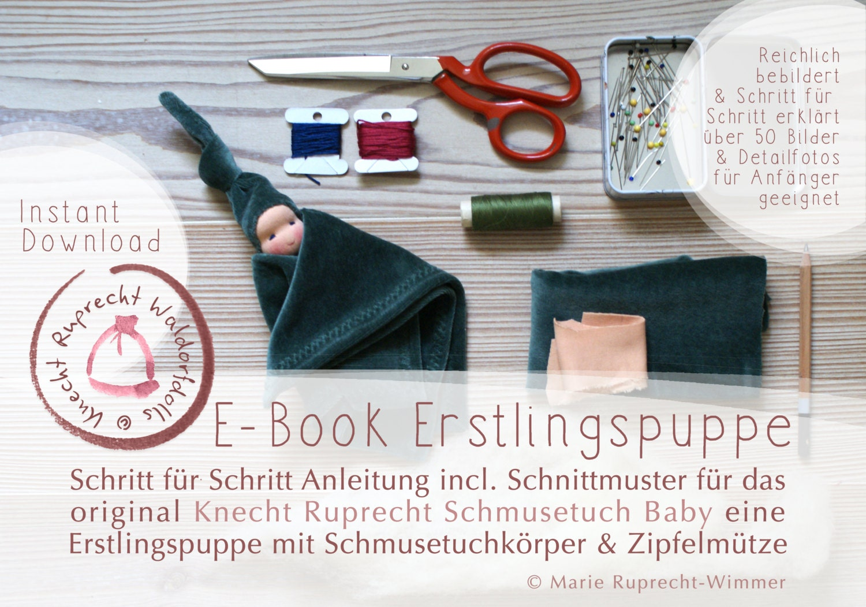 E-Book Erstlingspuppe Waldorf Art in DEUTSCH DIY Anleitung