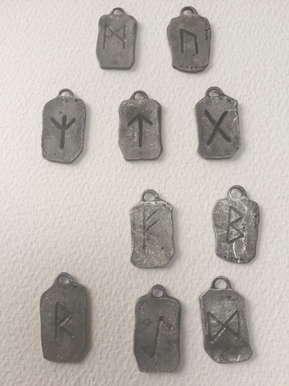 Rune Norse Celtic Gallen Choice Of Rune Symbol Pendant Etsy