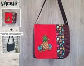 Pineapple bag flap for LA...