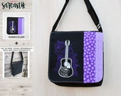 Guitar bag flap for MEDIU...