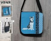 Husky dog bag flap for ME...