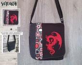 Dragon bag flap for MEDIU...