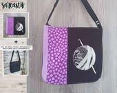 Crochet theme bag flap fo...