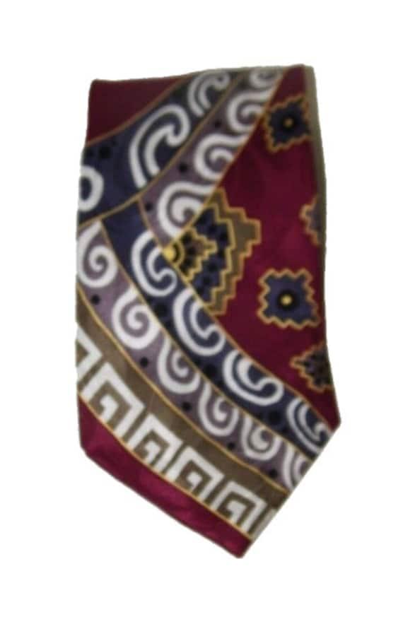 Vintage winegrapevine necktieFratello handmade tiefooddrinkwine neck tie