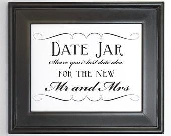 Print yourself date etsy date idea jar sign wedding decor printable diy digital file pdf signage do it yourself 8x10 5x7 4x6 fancy solutioingenieria Choice Image