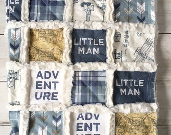 Little Aviator Minky Quilt