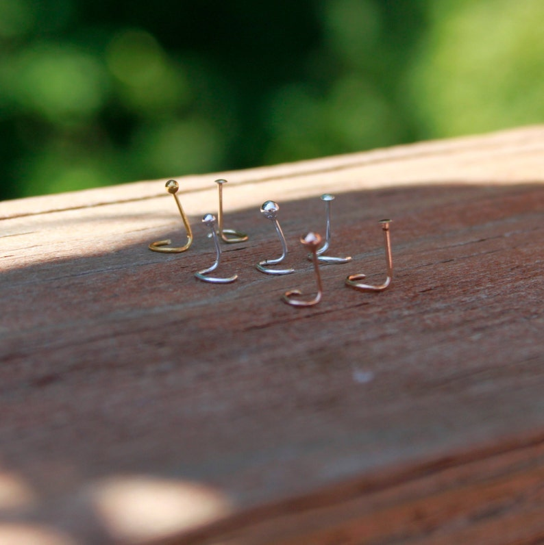 14K Gold Filled Itty Bitty Nose Stud