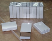 10Pk of Plain White Matchboxes for Collage, Shrines, Altered Art, and More