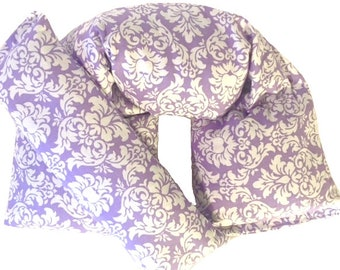 Heat Therapy, Heating Pad, Neck Wrap, Eye Pillow, Rice Bag, Microwaveable, Heat Cold Packs, Gift for Her, Pain Relief - READY to SHIP