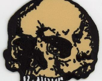 Base Skull Patch Gothic Horror Monster Kid Punk Rock Metal Biker Halloween NFP021