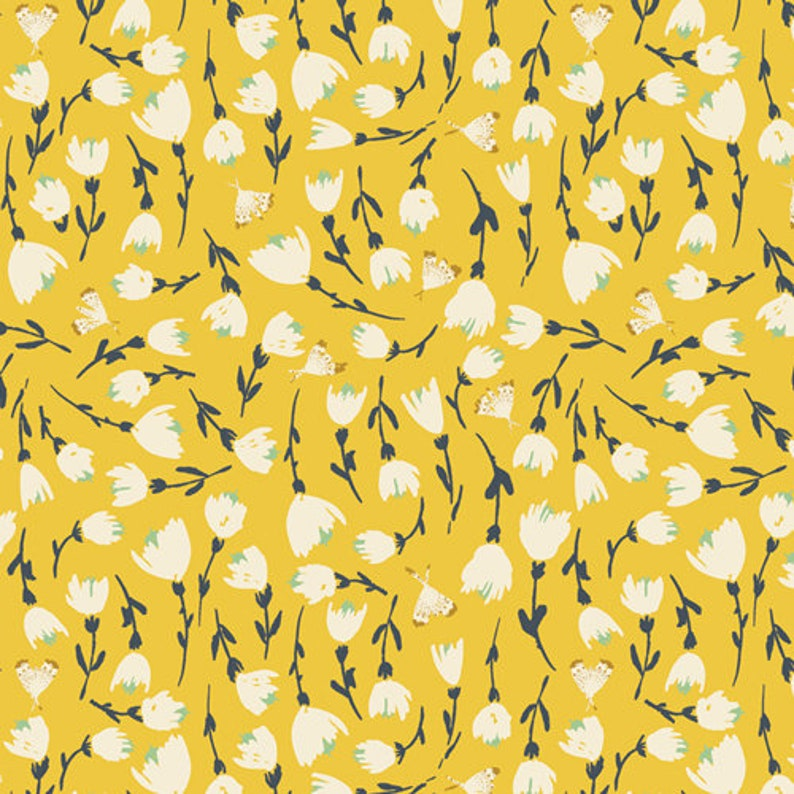 Discovered Sunshine Fabric The Open Road Fabric Art Gallery image 0