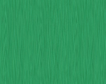 True Kisses by Heather Bailey for Figo Fabrics | True Emerald, Cotton Quilting Fabric, 1 YARD / 90370-76