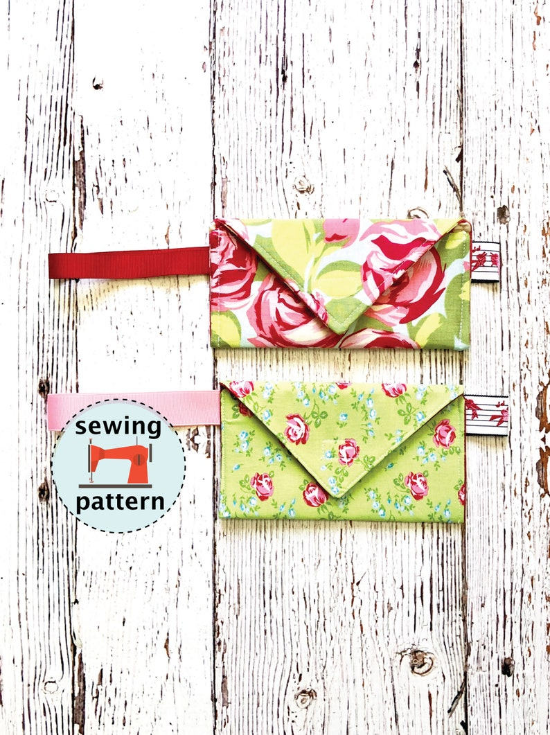 Envelope Wristlet Sewing Tutorial and Instructions  PDF image 0