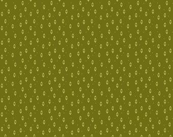 Ikat Green, Summers End by Alison Janssen, Quilting Cotton, Summers End Fabric by Figo, Quilt Fabric, 90343-72