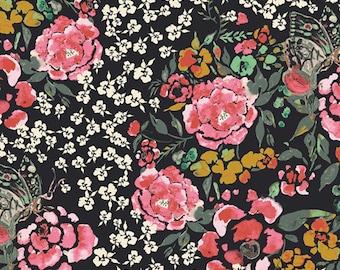 Jardin Robust RAYON Fabric, Eve Fabric by Bari J, Art Gallery Fabrics, Quilting Fabric, Modern Fabric, Bari J, R-29800