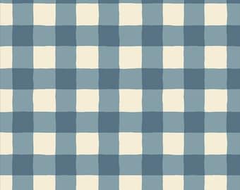 Sky Flannel - Plaid of My Dreams by Maureen Cracknell, Art Gallery Fabric Flannel Cotton, Art Gallery Fabrics, AGF fabric, F-805