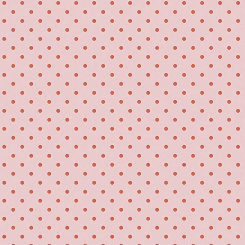 Petite Dots Rose Fabric Les Petits Fabric Art Gallery image 0