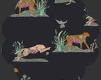 Untamed Nature Wild Fabric, Eve Fabric by Bari J, Art Gallery Fabrics, Quilting Fabric, Modern Fabric, Bari J, EVE-29806