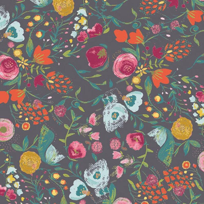 Budquette Nightfall Fabric Millie Fleur Fabric Art Gallery image 0