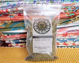 Organic Parsley Flakes- 1 oz.