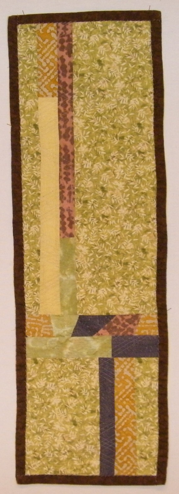 LABOR DAY SALE Table Runner/Wall Hanging-Earth Tones | Etsy