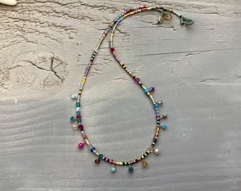Fiesta drops necklace