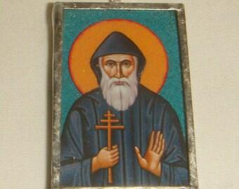 Saint Charbel Makhlouf of Lebanon Pendant inv1779